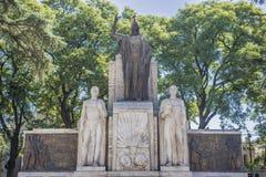 Cuadrado de Italia (plaza Italia) en Mendoza, la Argentina. Imagenes de archivo