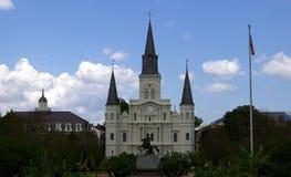 Cuadrado de Jackson en New Orleans Imagen de archivo libre de regalías