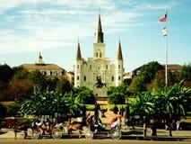 Cuadrado de Jackson, New Orleans Fotografía de archivo