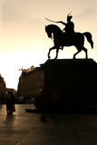 Cuadrado de Jelecic en Zagreb Imágenes de archivo libres de regalías