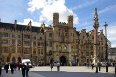Cuadrado de la abadía de Westminster Fotos de archivo libres de regalías