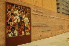 Cuadrado de la acción de gracias, Dallas Imagen de archivo
