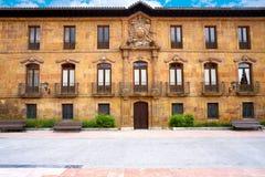 Cuadrado de la catedral de Oviedo en Asturias España fotos de archivo libres de regalías