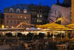 Cuadrado de la catedral: Riga Fotografía de archivo libre de regalías