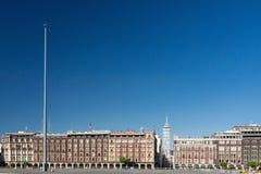 Cuadrado de la constitución de Ciudad de México Imagenes de archivo