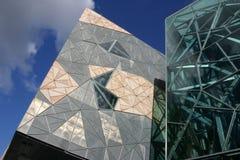 Cuadrado de la federación, Melbourne Fotos de archivo