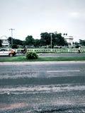Cuadrado de la independencia, Accra Ghana Imagen de archivo libre de regalías