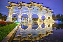 Cuadrado de la libertad de Taipei Imágenes de archivo libres de regalías