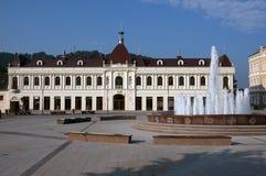 Cuadrado de la libertad de Tuzla Fotografía de archivo