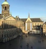 Cuadrado de la presa - Amsterdam Imagen de archivo