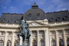 Cuadrado de la revolución en Bucarest Fotos de archivo