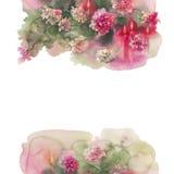 Cuadrado de las velas de los crisantemos horizontal libre illustration