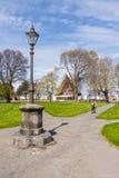 Cuadrado de Latimer y catedral de la cartulina, Christchurch NZ fotos de archivo libres de regalías