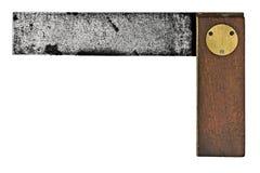 Cuadrado de los carpinteros de la vendimia Foto de archivo libre de regalías