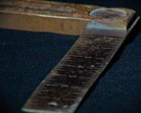 Cuadrado de los carpinteros del vintage Fotos de archivo libres de regalías