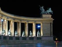 Cuadrado de los héroes, Budapest Fotos de archivo libres de regalías