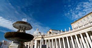 Cuadrado de los peters del santo, Roma Imagenes de archivo