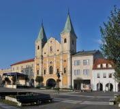 Cuadrado de Marianske - Zilina Foto de archivo