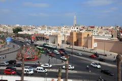 Cuadrado de Naciones Unidas en Casablanca Imágenes de archivo libres de regalías
