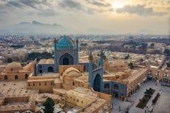 Cuadrado de Naqsh-e Jahan en Isfahán, Irán, Januray admitido 2019 hdr admitidos fotografía de archivo