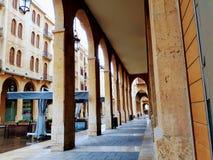Cuadrado de Nijmeh - Beirut Líbano Imagen de archivo libre de regalías