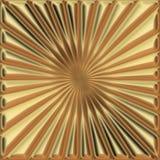 Cuadrado de oro Imagen de archivo
