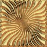 Cuadrado de oro Imagenes de archivo