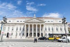 Cuadrado de Pedro IV, Lisboa fotografía de archivo