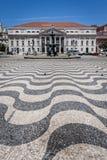 Cuadrado de Pedro IV, Lisboa Fotos de archivo libres de regalías
