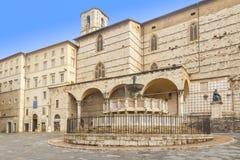 Cuadrado de Perugia Fotografía de archivo libre de regalías