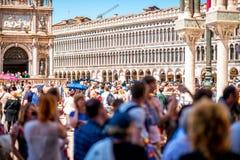 Cuadrado de Sam Marks en Venecia Fotos de archivo libres de regalías