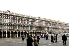 Cuadrado de San Marco en Venecia fotos de archivo