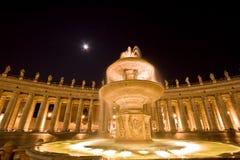 Cuadrado de San Pedro. Roma. Italia., Vatican Fotos de archivo