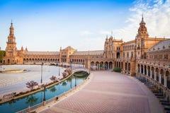 Cuadrado de Sevilla España Foto de archivo libre de regalías