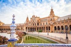 Cuadrado de Sevilla España Fotos de archivo libres de regalías