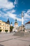 Cuadrado de SNP en Banska Bystrica Foto de archivo