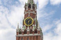 Cuadrado de Spasskaya Tower Moscú Kremlin, Rusia fotos de archivo libres de regalías