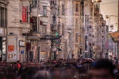 Cuadrado de Taksim Foto de archivo
