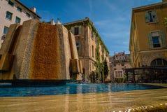 Cuadrado de Thiars en Marsella fotos de archivo libres de regalías