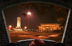 Cuadrado de Tiananmen imagenes de archivo
