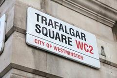 Cuadrado de Trafalgar Imagenes de archivo