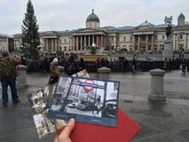 Cuadrado de Trafalgar Fotos de archivo libres de regalías