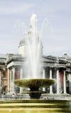 Cuadrado de Trafalgar en Londres Imagen de archivo