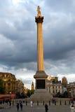 Cuadrado de Trafalgar, Londres - 2 Fotos de archivo libres de regalías