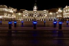 Cuadrado de Trieste foto de archivo