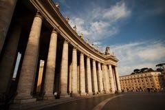 Cuadrado de Vatican Fotografía de archivo libre de regalías