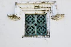 Cuadrado de verdes Fotografía de archivo