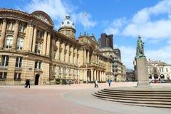 Cuadrado de Victoria, Birmingham Imagen de archivo