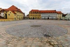 Cuadrado del castillo de Freiberg Fotografía de archivo