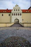 Cuadrado del castillo de Freiberg Imagen de archivo
